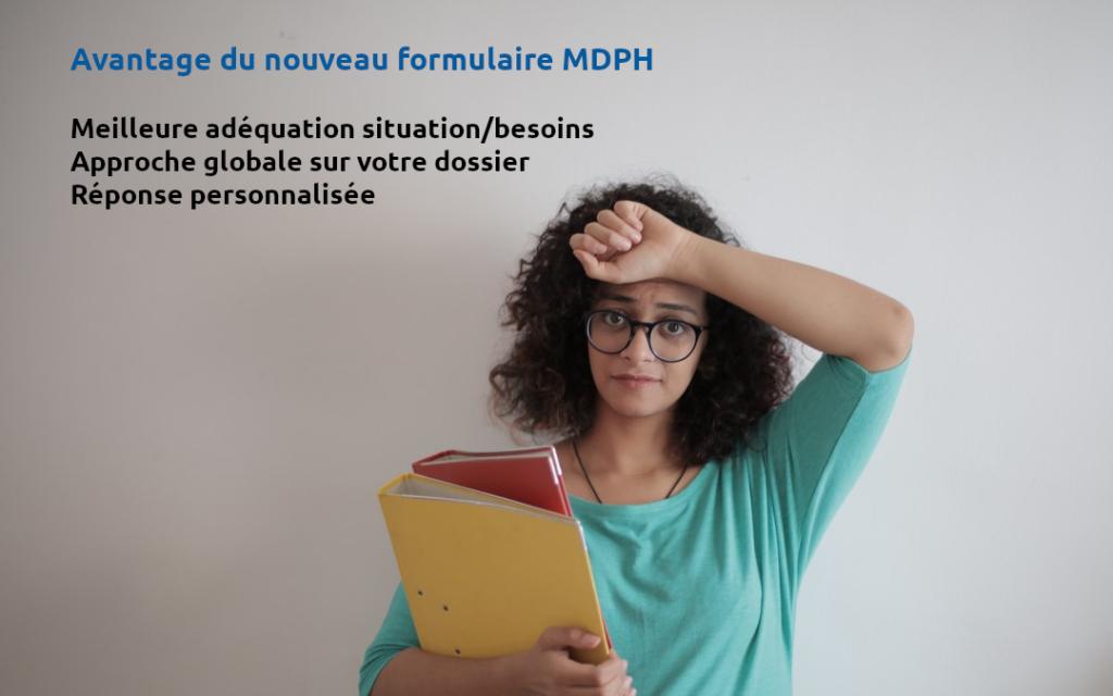 dossier mdph nouveau formulaire