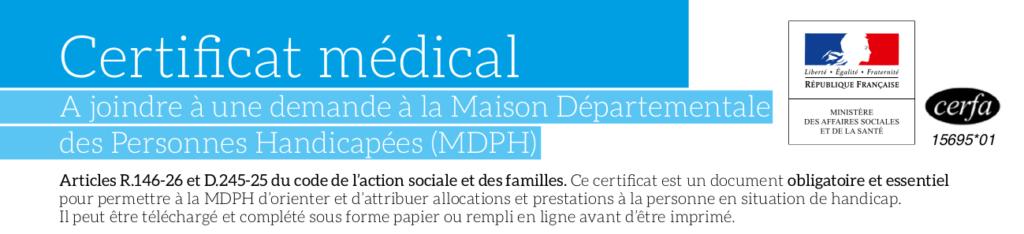 formulaire médical mdph