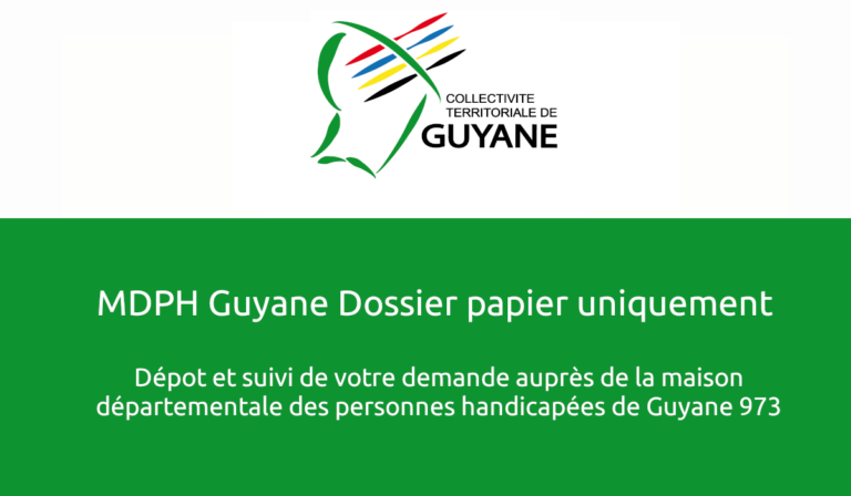 MDPH Guyane Dossier